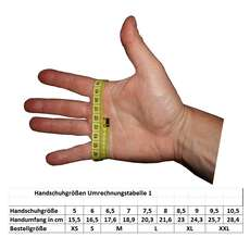 Handschuhe 5mm 5 Finger Stretch 500 L