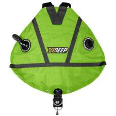 xDEEP STEALTH 2.0 TEC Full Set - Sidemount Komplettset lime