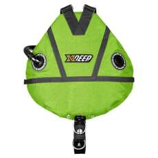xDEEP STEALTH 2.0 REC Full Set - Sidemount Komplettset lime