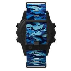 Shearwater Teric Nylon Strap Kit Marina blue Shark Camo...
