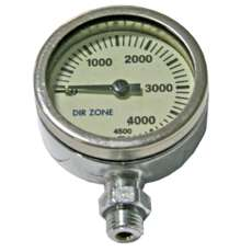 DIRZONE Finimeter SPG 52mm 3300psi Chrom