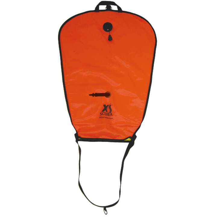 XS Scuba Hebesack / Liftbag 50lbs / 22 L, Oral and Inflator OPV Orange