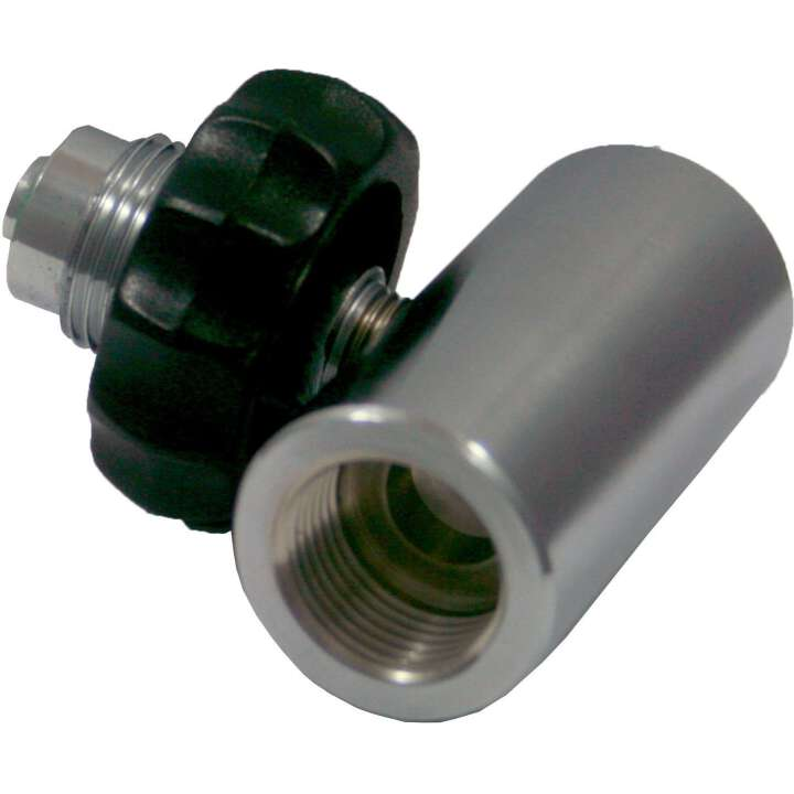 Dirzone T-Adapter, T-Stück Edelstahl Male G5/8 - 2x Female G5/8 232 Bar